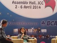 Grasindo Talk, Jakarta, 6 Apr 2014